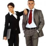 Business couple — Stock Photo #10763005