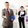 Business deal in the office — Stock Photo #10763055