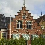 Old inn in the centre of Sneek. — Stock Photo