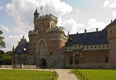 Gaasbeek Castle main entrance — Stock Photo