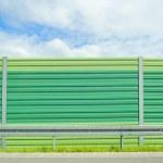 Noise barrier — Stock Photo #11653737