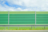 Noise barrier — Stock Photo