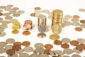 Romania money — Zdjęcie stockowe
