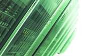 Green Servers — Stock Photo