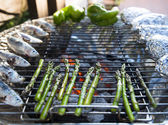 Mediterranean BBQ — Stock Photo