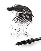 Black mascara eye linet beauty make up — Stock Photo