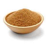 Comida de ingrediente dulce de azúcar morena — Foto de Stock