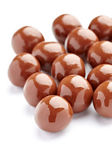 Chocolate candy with nut sweet bonbon — Stock Photo