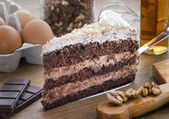 Cake choco 1 — Stock Photo