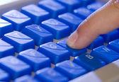 Laptop keyboard 1 — Stock Photo