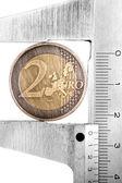 Moneda 1 nuevonieuwe 1 munt — Stockfoto