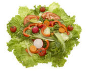 Salad closeup 3 — Stock Photo