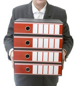 Business files 3 — Stock Photo