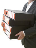 Business files 1 — Stock Photo