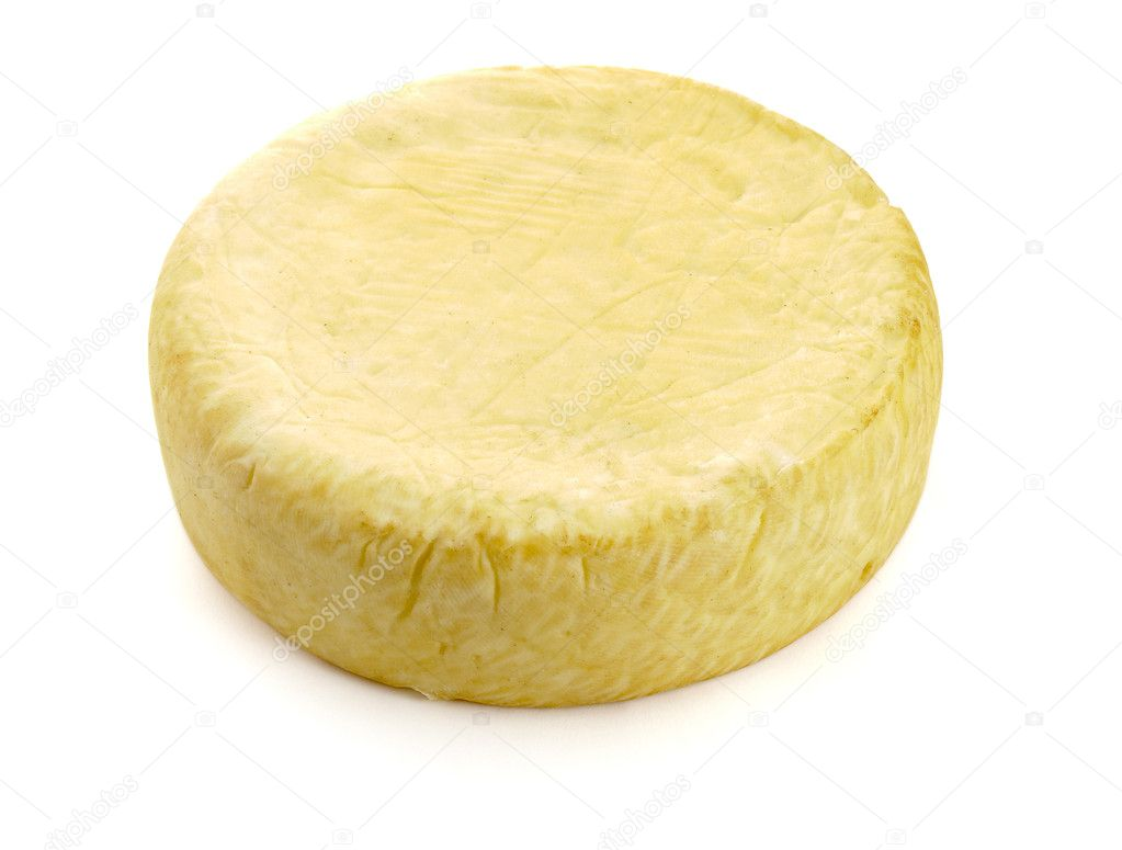 Close up of cheese on white background with clipping path, shadow not included — Stock Photo #10865907