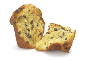 Muffin halved new — Stock Photo