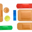 Plasters group — Stock Photo
