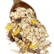 Muesli dish — Stock Photo