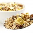 Stock Photo: Muesli dish