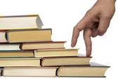 Pile de livres de l'éducation — Photo