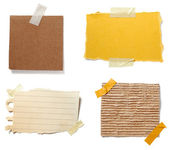 Brown old paper note background — Stock Photo