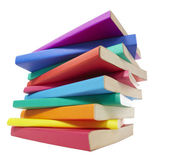 Colorful books stack education — Stock Photo