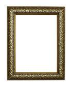 Frame golden grunge antik — Stockfoto