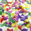 Confetti celebration new year festive — Stock Photo