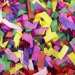 Confetti celebration new year festive — Stock Photo