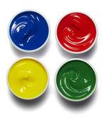 Artist color palette paint — Stock Photo