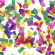 Confetti celebration new year festive - Stock Photo