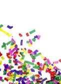 Confetti viering nieuwjaar feestelijke — Stockfoto