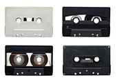 Audio tape sound music old grunge — Stock Photo