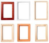 Dřevěný rám kulis — Stock fotografie
