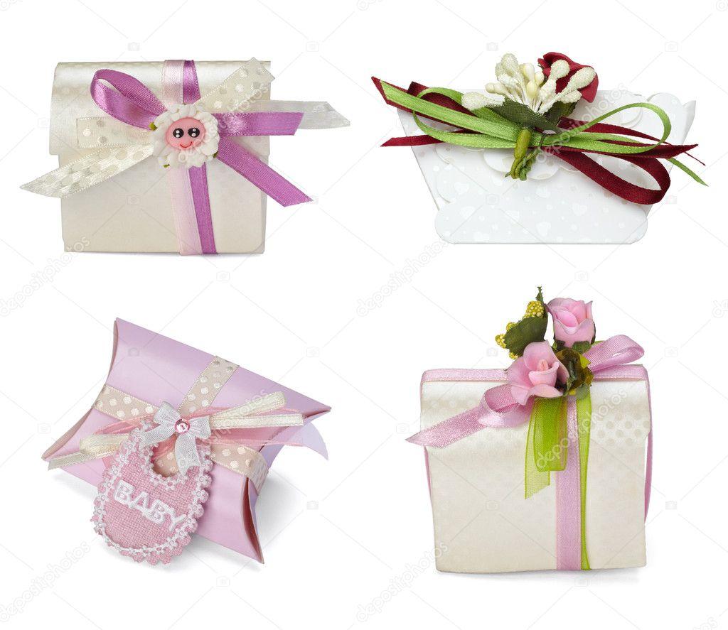 Wedding Gift Deposit Box : Present box gift weddingStock Photo ? PicsFive #11299831