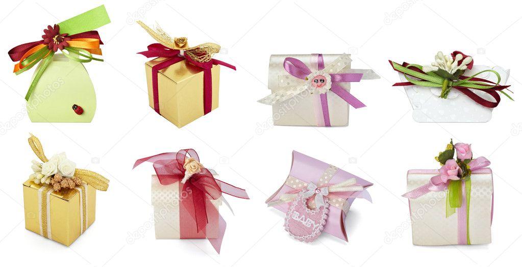 Wedding Gift Deposit Box : Present box gift weddingStock Photo ? PicsFive #11300189