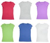 T shirt clothing template dress wear — Stock Photo