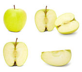 Apple fruit food vegeterian nutrition nature plant — Stock Photo