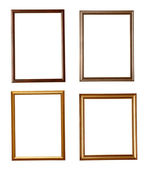 Wooden frame grunge — Stock Photo