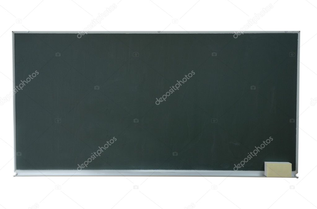 Close up of an empty  chalk board — Stock Photo #11475921