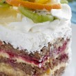 Fruit cake sweet food — Stockfoto
