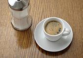Boire de tasse de café — Photo