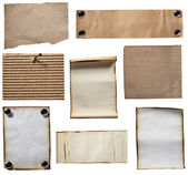 Grunge note paper — Stock Photo