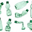 Empty used trash bottle ecology environment — Stock Photo