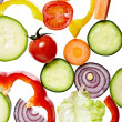 Salad vegetable diet food - Stock Photo