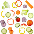 Salad vegetable diet food — Stock Photo