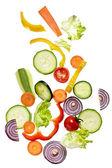 Salad vegetable diet food — Stock Photo