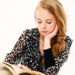 Stock Photo: Female student with books