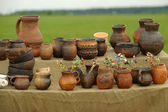 Clay pots — Stockfoto