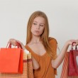 Woman with shopping — Stock Photo #11451718